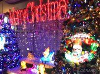 桜新町駅前のJA世田谷目黒さん前にあるクリスマスイルミネーションは、色鮮やかなネオンがたくさん飾られ、クリスマスを幻想的にしています。